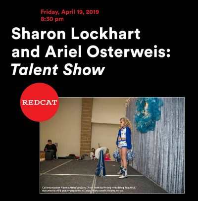 Poster: Sharon Lockhart and Ariel Osterweis: Talent Show